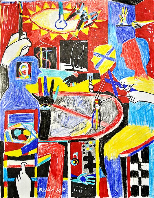 Nancy Rourke Paintings Artivism