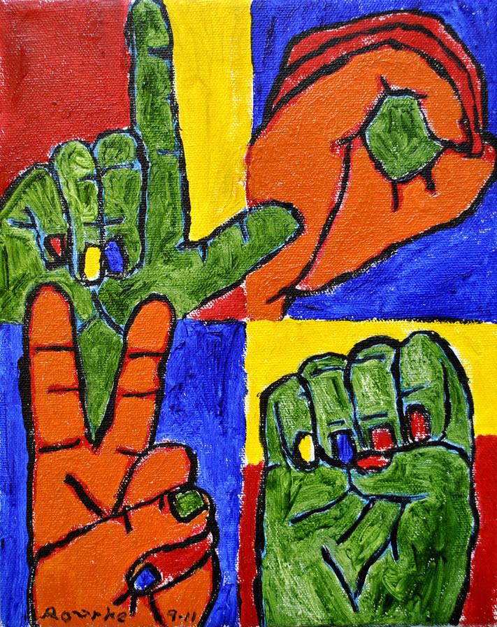 nancy rourke paintings � deaf culture asl lives