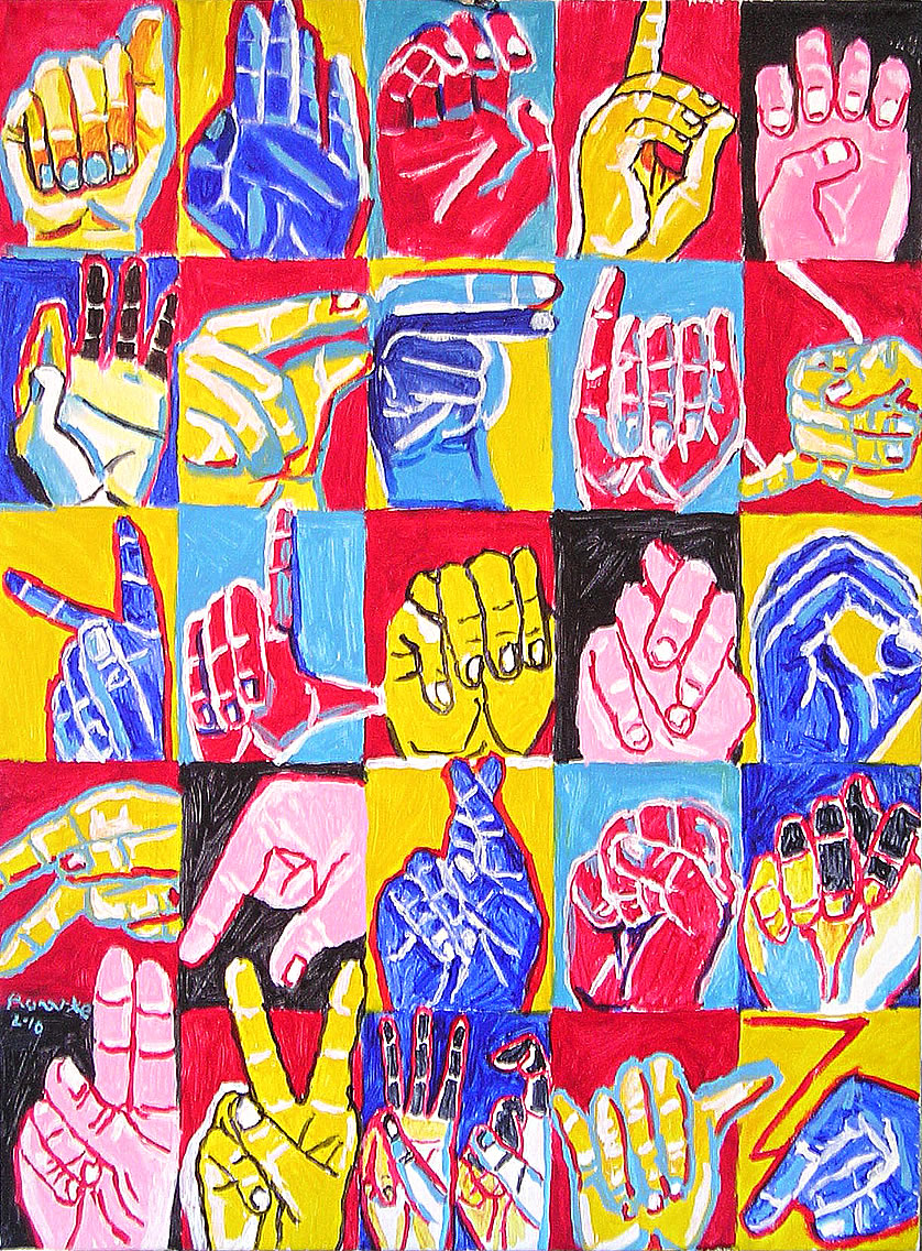 nancy rourke paintings � deaf history deaf culture and